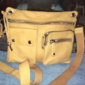 Fossil Leather Sutter Crossbody Bag